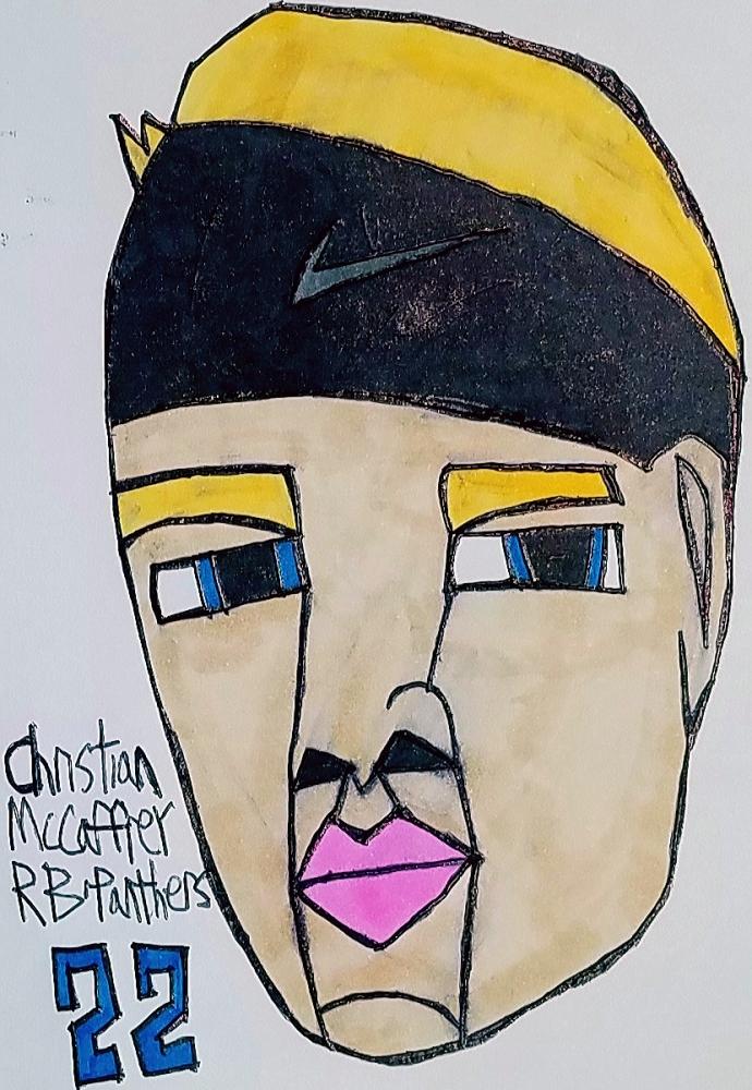 Christian McCaffrey par armattock